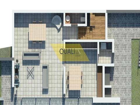 Mixed Land 920 m2 mit Projekt genehmigt für zwei Villen mit 3 Schlafzimmern- Madeira €100.000,00