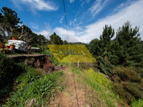 Land with 782m2, with feasibility of construction in Fajã da Ovelha - € 31.500,00