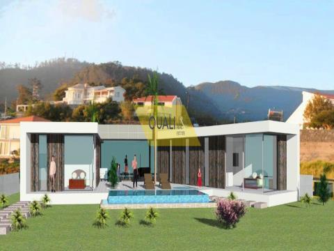 Terreno de 1041m2 com Projecto no Arco da Calheta - Ilha da Madeira. €85.000,00