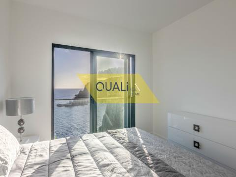 Two bedroom apartment with sea view € 170.000,00 Porto Novo, Madeira Island.