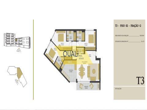 Fantastic 3 bedroom apartment in São Martinho € 315.000,00
