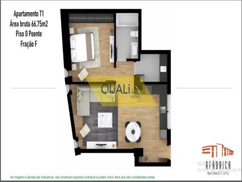 Apartamento T1  - Centro do Funchal.  Ilha da da Madeira- €165.000,00