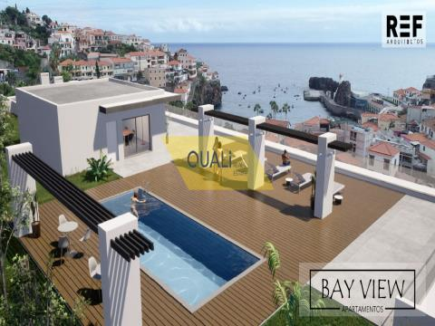 2 Bedroom Apartment in early construction in Câmara de Lobos - Madeira Island - € 300.000,00