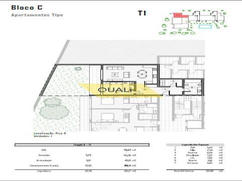 1 Schlafzimmer Wohnung in São Martinho Funchal. Insel Madeira - € 190.000,00