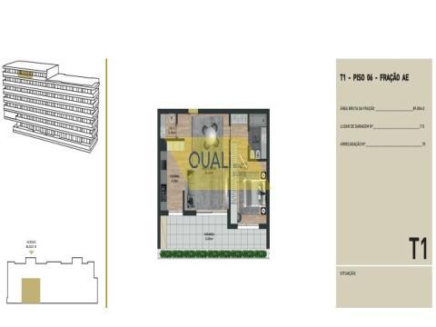 Appartamento con 1 camera da letto in vendita nelle virtù, Funchal - Isola di Madeira - € 245.500,00