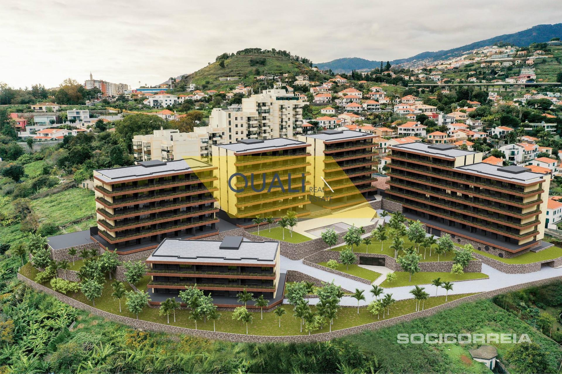 Appartamento con 3 camere da letto in vendita nelle virtù, Funchal - Isola di Madeira - € 385.500,00