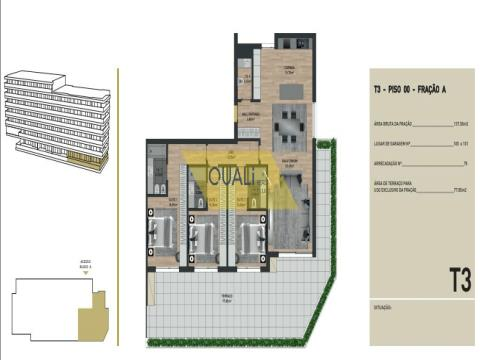 Apartamento de 3 dormitorios en venta en las virtudes, Funchal - Isla de Madeira - 385.500,00 €