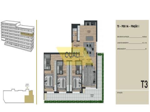 Appartamento con 3 camere da letto in vendita nelle virtù, Funchal - Isola di Madeira - € 415.500,00