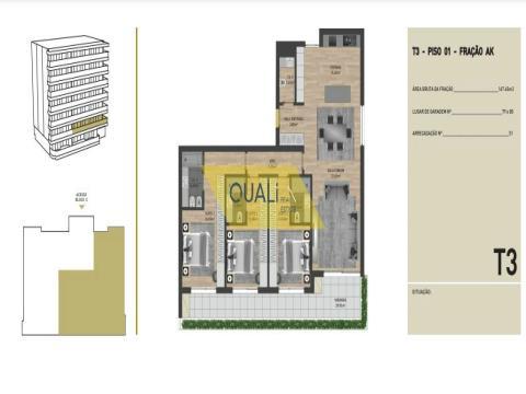 Appartement de 3 chambres à vendre aux vertus, Funchal - Île de Madère - 385 500,00 €
