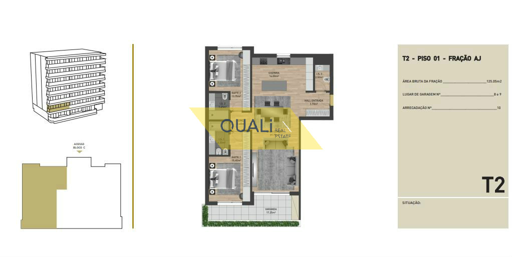 Appartamento con 2 camere da letto in vendita nelle virtù, Funchal - Isola di Madeira - € 300.500,00