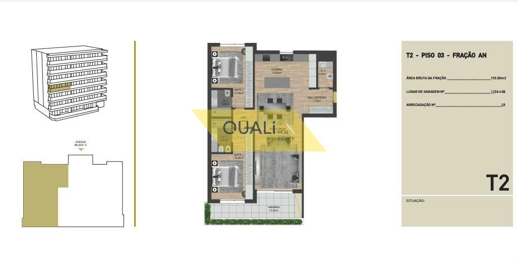 Appartamento con 2 camere da letto in vendita nelle virtù, Funchal - Isola di Madeira - € 320.500,00