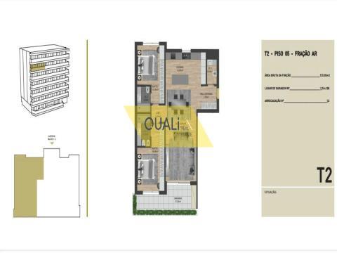 Apartamento T2 para venda nas virtudes, Funchal - Ilha da Madeira - €340.500,00