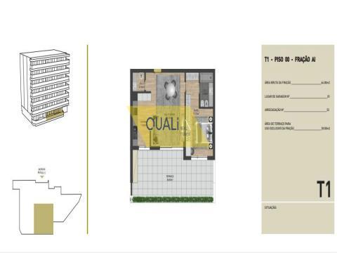Appartamento con 1 camera da letto in vendita nelle virtù, Funchal - Isola di Madeira - € 195.000,00