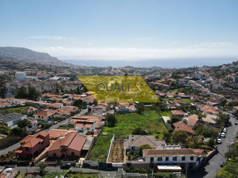 Urban land of 3559 m2 - Sto. António Funchal, Madeira Island - € 395,000.00