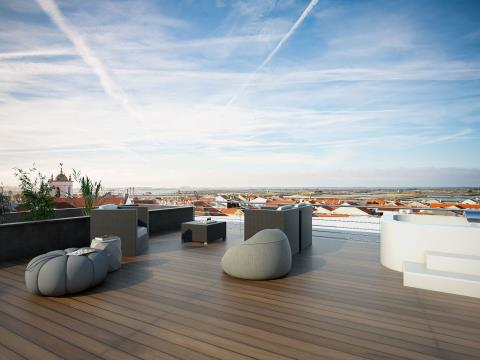 Vistas deslumbrantes -  Penthouse T5 Duplex - Novo