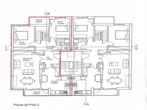Apartamento T4 Duplex - Esgueira