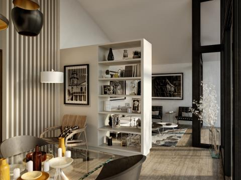 Apartamento T1+1 - Frente Ria de Aveiro
