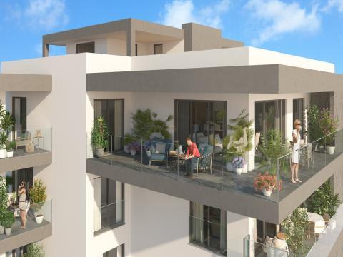 A 50 metros da praia. Apartamentos Novos T2 desde...