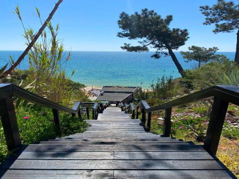 Villa 150 mètres de la plage avec vue sur la mer