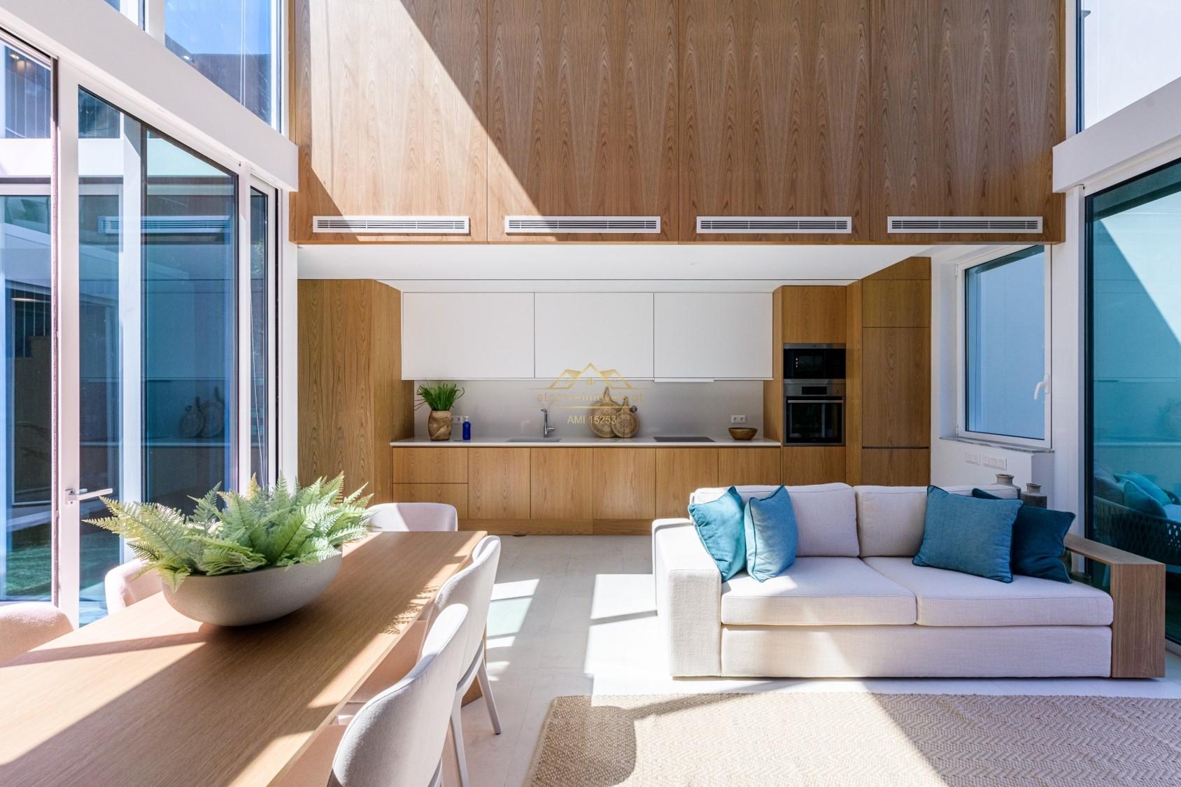 Villa de luxe de 4 chambres en construction Vilamoura