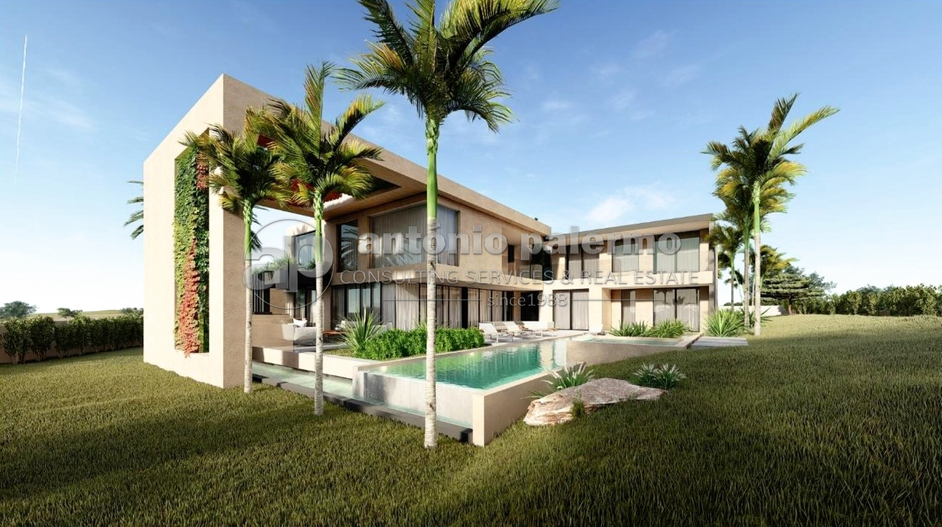 An exceptional contemporary 5-bedroom villa for sale