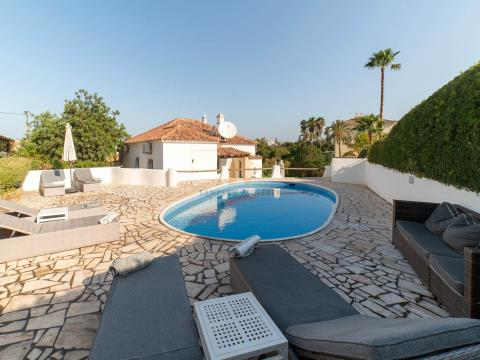 For sale in Carvoeiro, Great investment property. 3 bedroom villa with pool & garage.