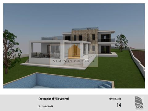 For sale, Building plot with approved project