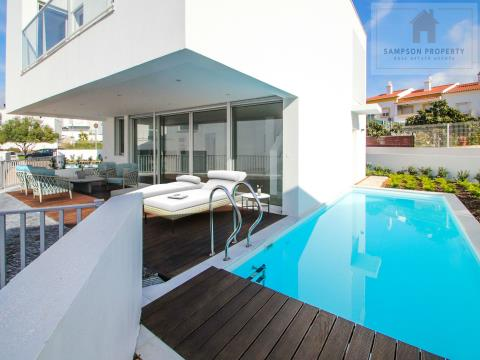 New Build - modern 1+2 bed villa w/heated pool & garage
