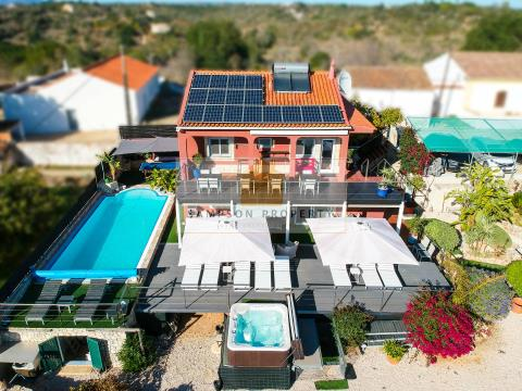 Renovated 3 bed countryside villa, heated pool & beautiful views