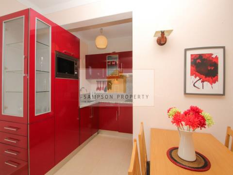 Renovated 1 bed ground floor apt w/large terrace 500m from beach