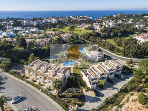 For sale in Carvoeiro, 2 bedroom apartments with sea views & terraces