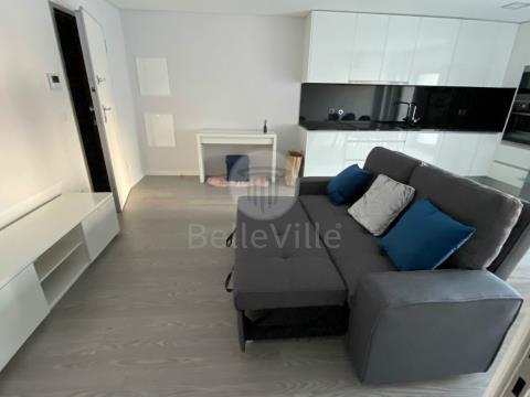 Apartamento T1 Mobilado, novo com terraço, Gualtar