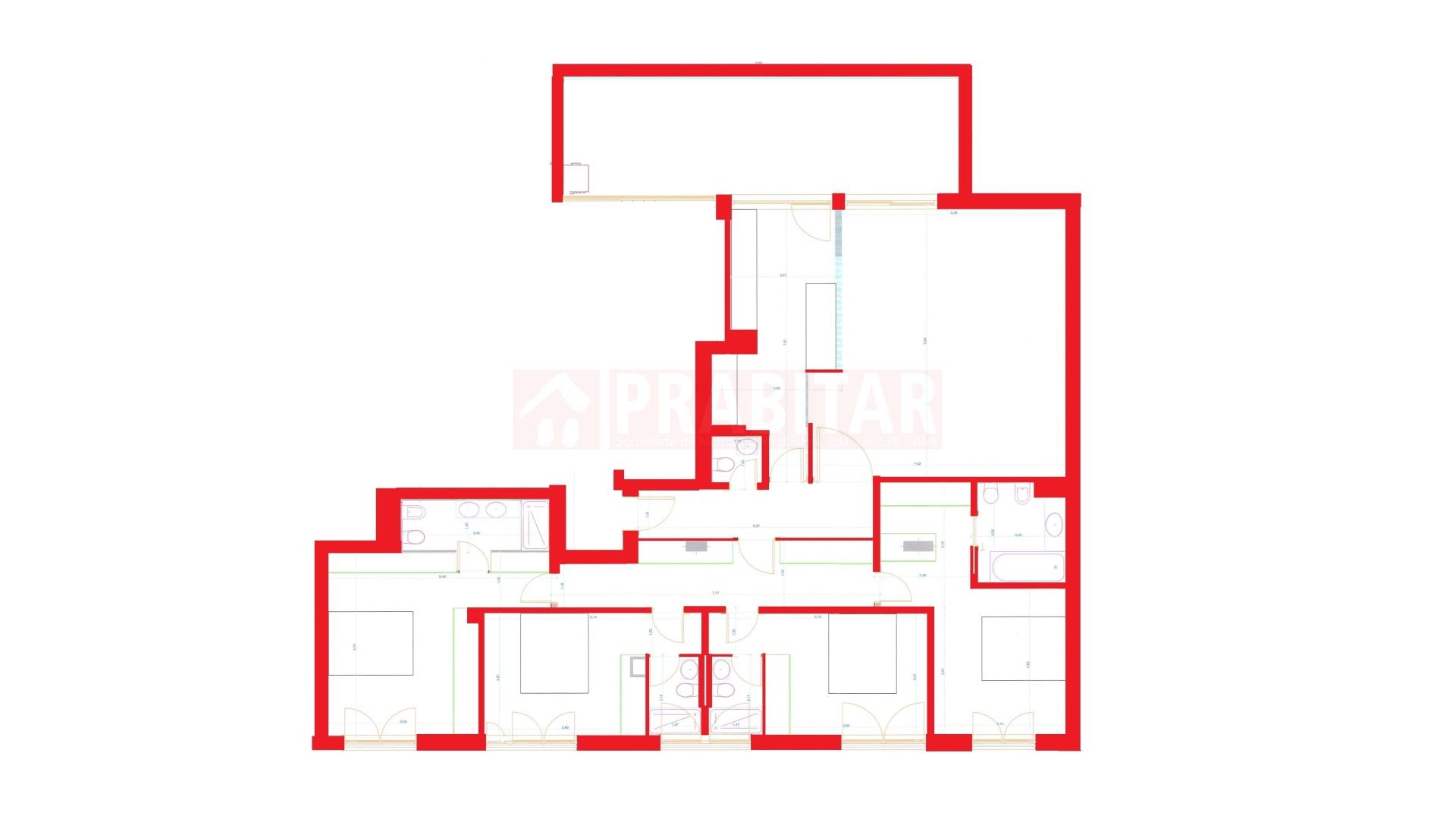 Apartamento T4 na Solum