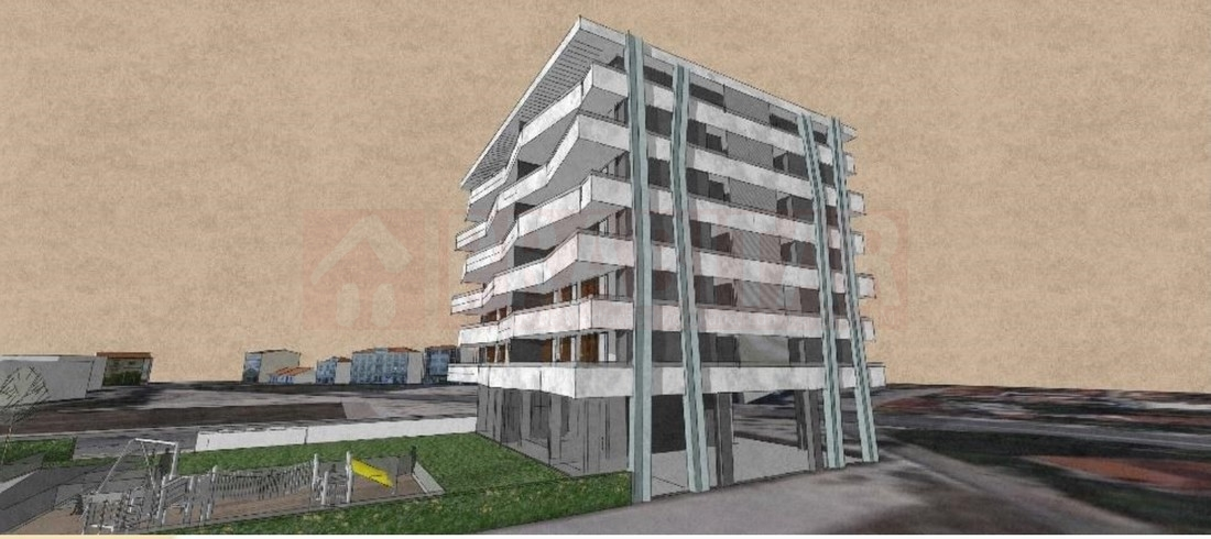 T2 Novo com terraço e garagem na Solum