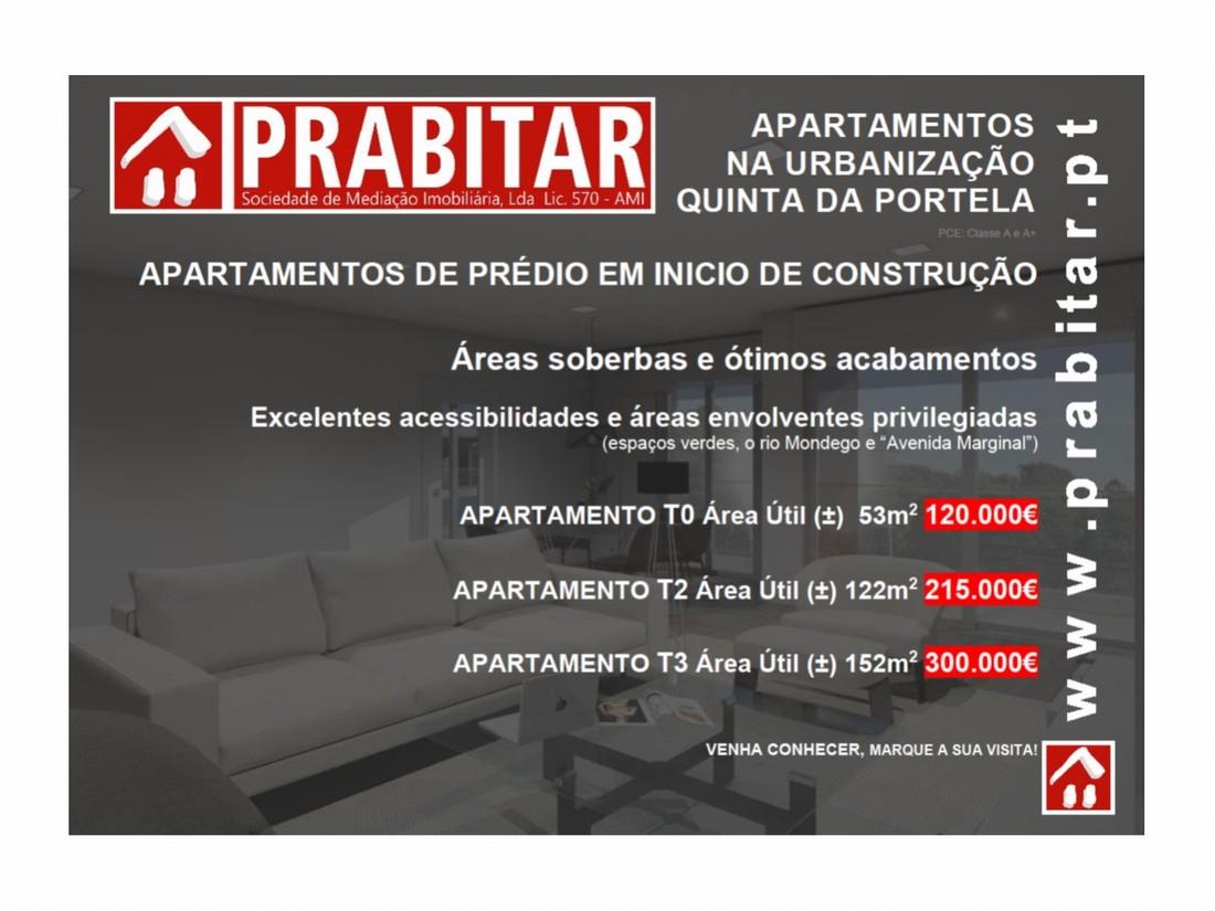 Apartamentos na Urbanização Quinta da Portela  (Início de Construção)