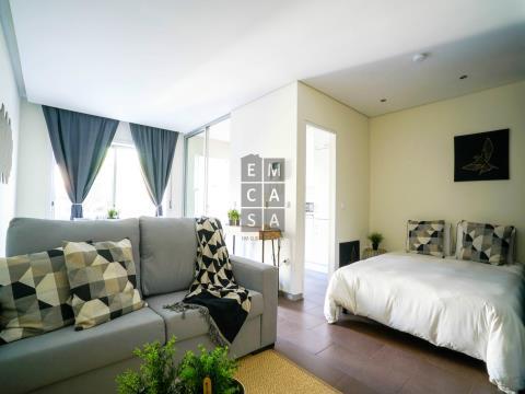 Apartamento T0 para arrendar perto do Hospital Santo António