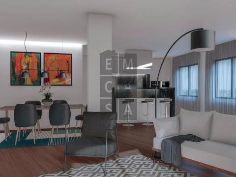 Apartamento T1 no centro da cidade de Oliveira de Azeméis