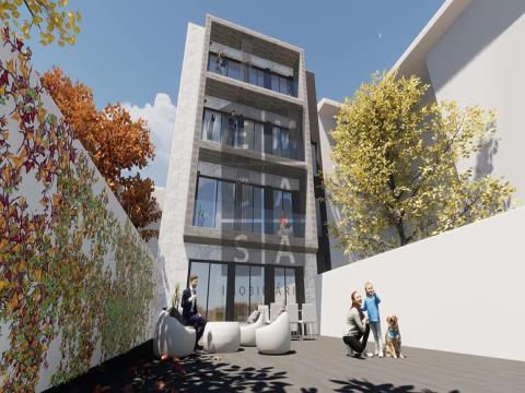 Apartamento T2 com terraço no Centro de Espinho