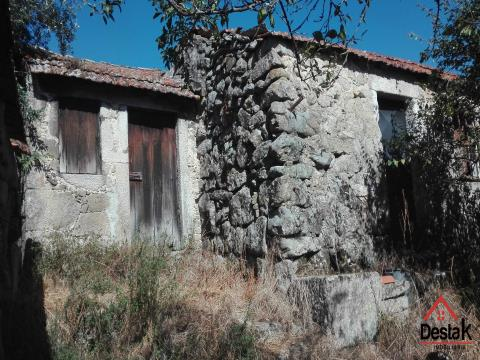 Detached house for restoration located 3 minutes from the village of Oliveira de Frades and 5 minute