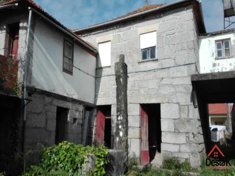 House with 100% Financing, 10 minutes from the Baths of São Pedro do Sul and Vouzela