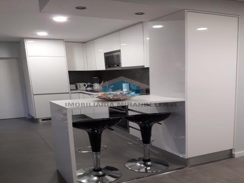 Apartamento T2 com linhas modernas para venda