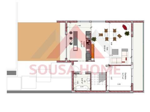 Maison isolée 4 Chambre(s)