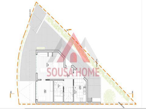 Semi-detached house T3+1