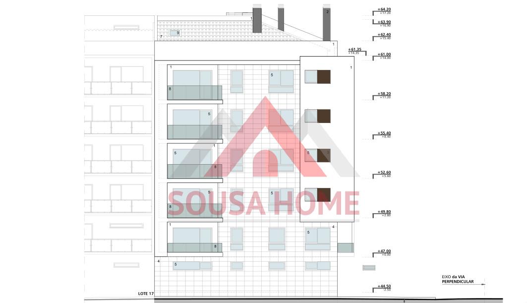 T3 Construção - Centro - Exposição Solar