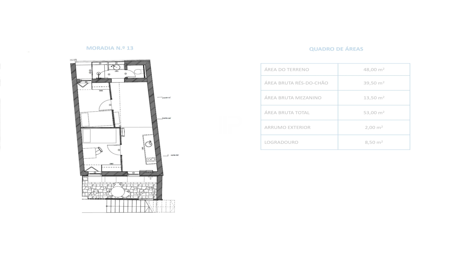 Maison jumelée 2 Chambre(s)+1