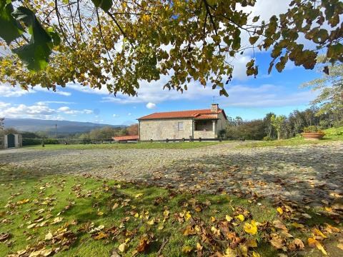 Rural Tourism Farm plot on the Caminho de Santiago - 2 Houses and 3HA of potential