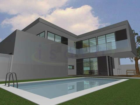 Turnkey project for a 355m2 plot;