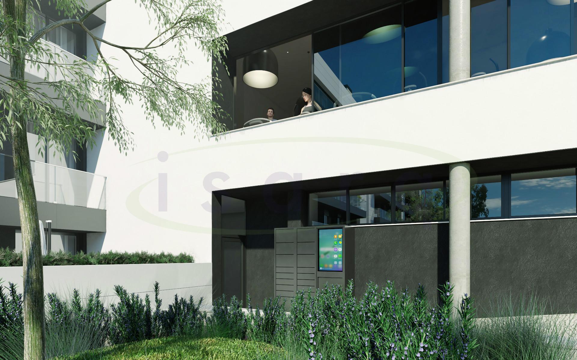 Apartamento T2 com Excelente Varanda, NOVO! e muito bem localizado a 500m do Metro