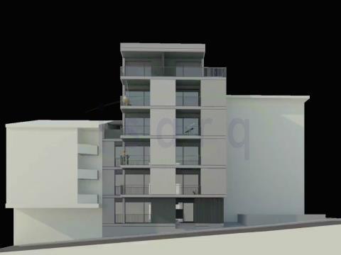 Apartamento T1+1, no Centro da Maia e próximo do Metro