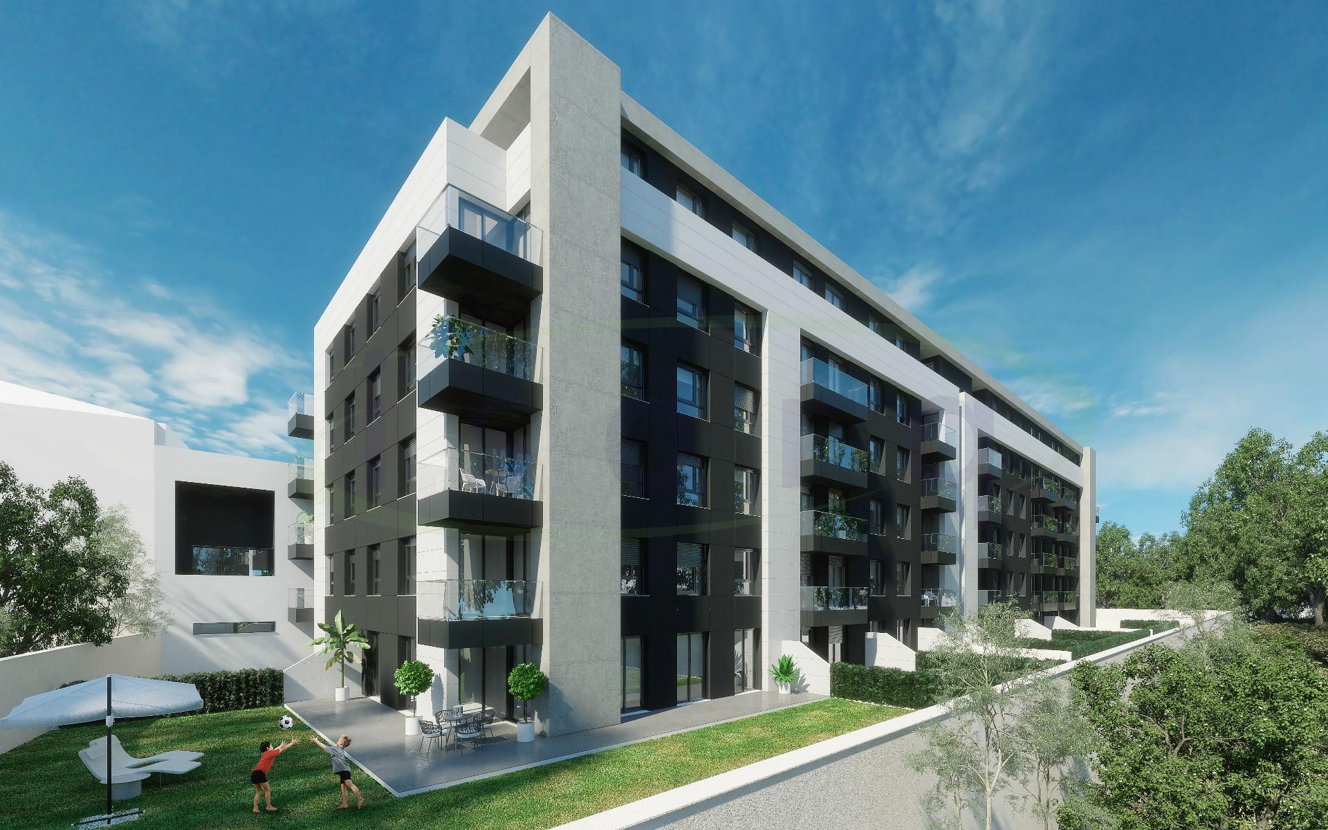Appartamento con 2 camere da letto con balcone eccellente, NUOVO! a 500 metri dalla metropolitana